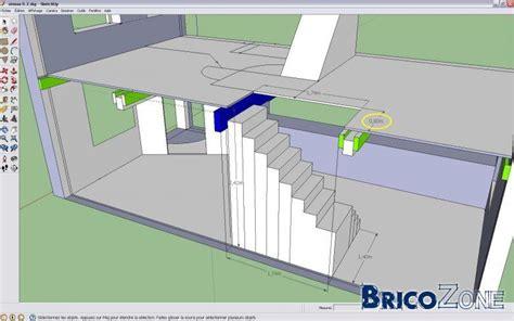 dimensionnement d un escalier 2 quarts tournant