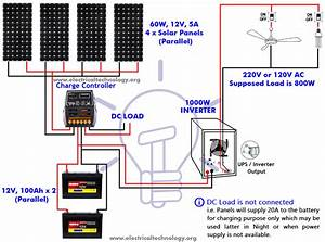 Wiring Diagram Symbols Solar Battery Bank Wiring Diagram