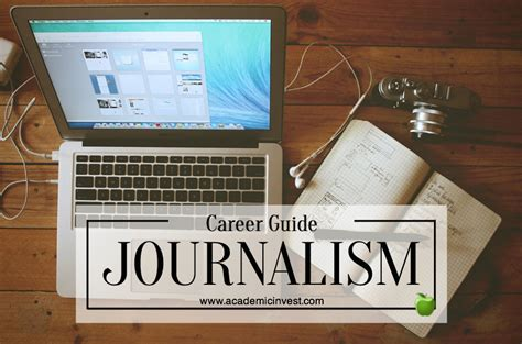 Journalism Career by Journalism Career Guide How To Become A Successful