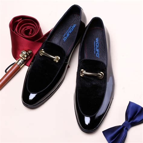 Aliexpress Buy New Men Dress Shoes Shadow Patent