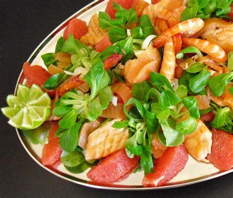 cuisine asiatique recette salade saumon crevettes plemousse la recette facile