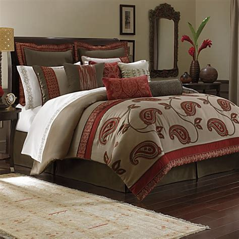 Bombay Bali 4piece Comforter Set  Bed Bath & Beyond