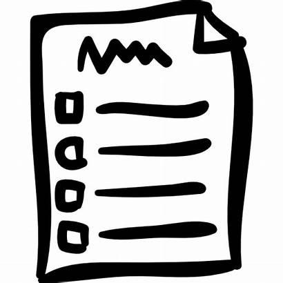 Check Clipart Checklist Lista Icon Papier Liste