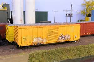 HO Scale Freight Car Weathering
