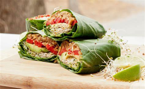 cuisine vegan vegan collard wraps recipe