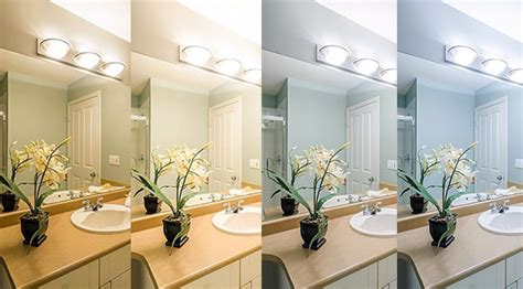 Bathroom Lighting Color Temperature by Light Bulb Color Temperature How To Light A Room