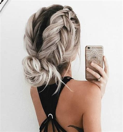 Braids Inspiration Tumblr Pinterest Hairstyle Messy Bun