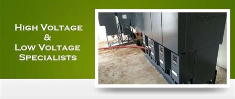 Low Voltage Engineer by Specialist Substation Contractors High Voltage