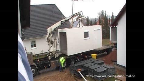 Eine 12 Meter Zapf Garage Wird Angeliefert Youtube