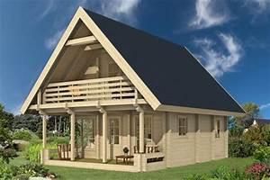Winterfestes Gartenhaus Zum Wohnen : houten zelfbouw woning 60m2 sauna kopen ~ Eleganceandgraceweddings.com Haus und Dekorationen