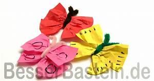 Schmetterlinge Basteln Zum Aufhängen : einfache schmetterlinge mit kindern basteln ~ Watch28wear.com Haus und Dekorationen