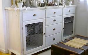 relooking ceruser un meuble basique cote maison With ceruser un meuble peint