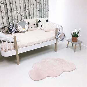 tapis nuage rose pastel pour chambre bebe fille par lilipinso With tapis chambre bébé avec livraison de roses Ï domicile