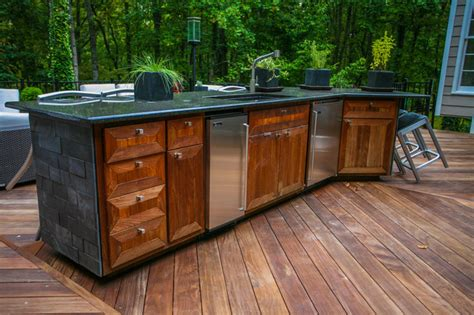 Kennesaw Outdoor Kitchen 2 Contemporary Patio