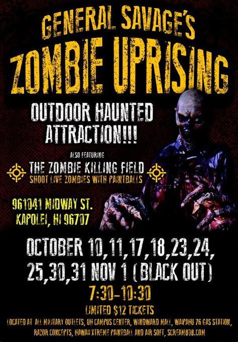 uprising zombie halloween frolic savage general