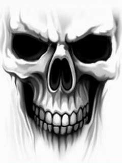 ghost skull wallpaper