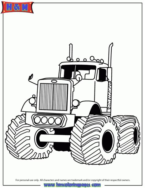 printable truck coloring pages everfreecoloringcom
