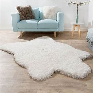 Fell Teppich Rosa : xxl poils longs tapis fausse fourrure ours polaire style flokati doux haut de gamme nouveau en ~ Orissabook.com Haus und Dekorationen
