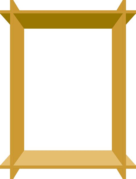 3d Border Picture by Picture Frame Free Stock Photo Illustration Of An