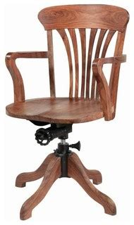 wooden swivel office chair traditional desks and