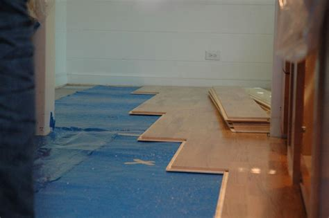 installing hardwood floors in kitchen how to install hardwood flooring in a kitchen hgtv 7547