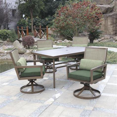 Backyard Patio Set by Backyard Creations 174 Danbury Collection 5 Dining