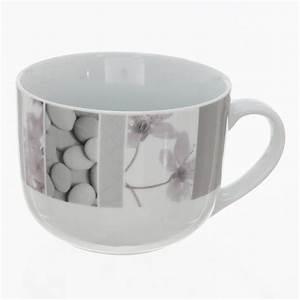 Tasse Petit Déjeuner : tasse petit d jeuner zen gris ~ Teatrodelosmanantiales.com Idées de Décoration