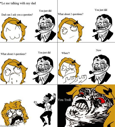 Dad Comic Meme - ragegenerator rage comic troll dad