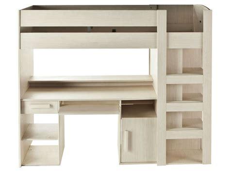 lit bureau conforama lit mezzanine 90x200 cm montana vente de lit enfant