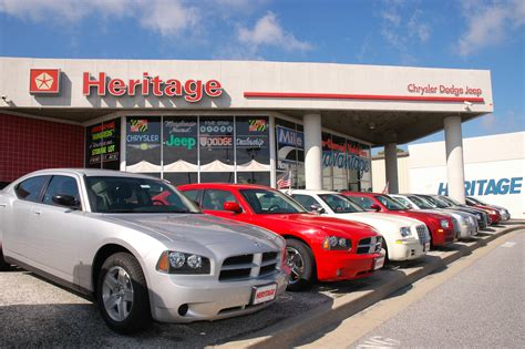 chrysler jeep dodge dealership mileone heritage chrysler dodge jeep stores in baltimore