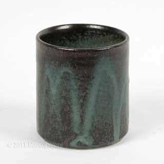 japanese tea cup  irabo glaze kotatsu marcopoloni