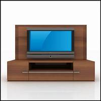 tv wall units TV / Wall Unit Modern Design X_01