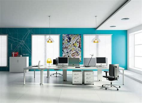 couleur peinture bureau décorer les murs d une peinture turquoise 38 idées d été