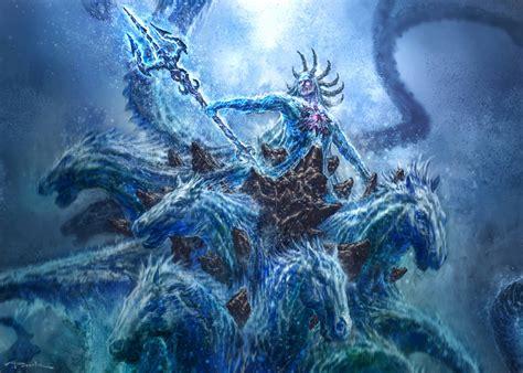 aquaman dc vs poseidon god of war battles comic vine