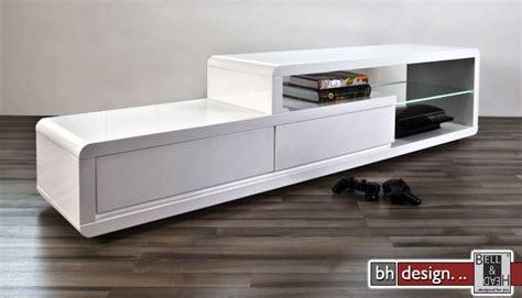 Kühlschrank Side By Side Weiß by Tv Lowboard Hochglanz Wei Trendy Tv Lowboard Hochglanz