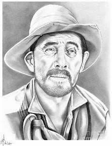 Festus-ken Curtis Drawing by Murphy Elliott