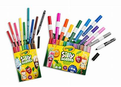 Crayola Markers Silly Scents Scented Crayons Smell