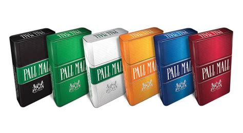 pall mall colors pall mall updated packaging convenience store news
