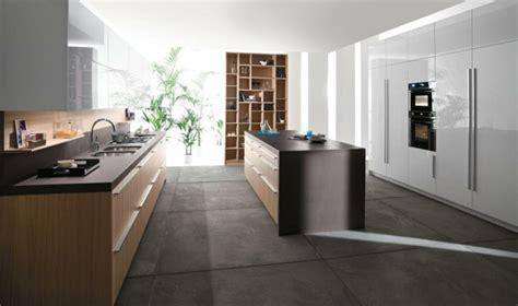 cuisine beton cire bois sol béton ciré pour une pièce plus naturelle et minérale