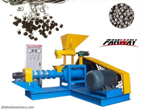 choose aqua feed processing equipment fish feed