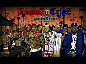 Gta Sa - Blood Gang & Grove St [Vs] Crips & Ballas - YouTube