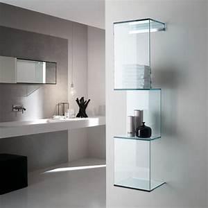 étagère En Verre Ikea : etagere murale en verre design id es de d coration int rieure french decor ~ Teatrodelosmanantiales.com Idées de Décoration