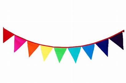 Bunting Rainbow Flags Reversible Child Care Wooden