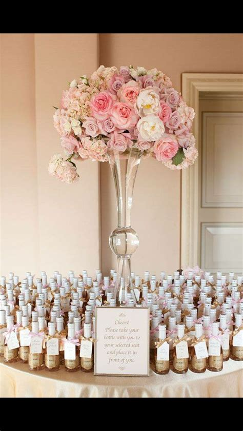 champagne flutes beaded   bottles seating plan