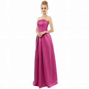 lilac purple satin dress long bridesmaid dresses 2015 With long purple dresses for weddings