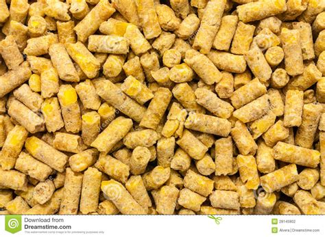 Poultry Feed Expanded Pelleted Stock Photo