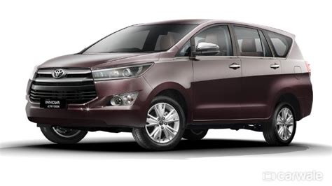 toyota innova crysta top  features carwale