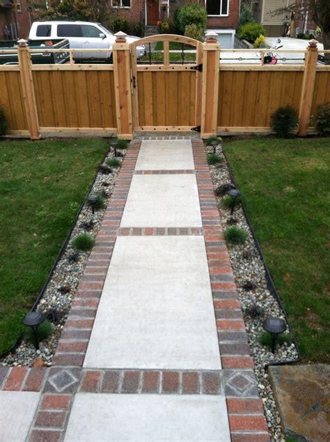 Backyard Sidewalk Ideas by Concrete Walkway Ideas And Concrete Walkwaybricks