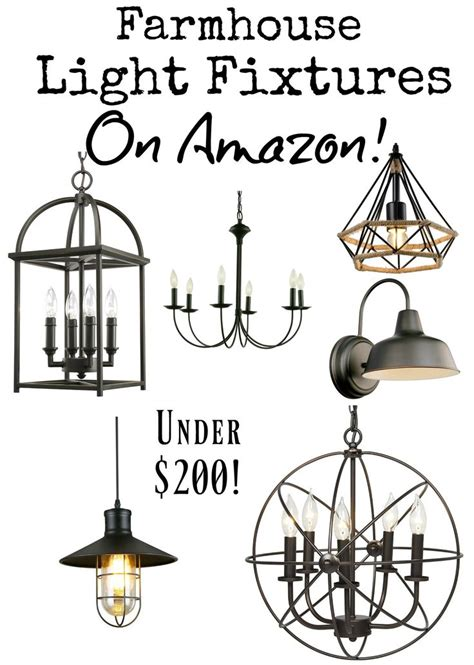 best 25 farmhouse light fixtures ideas on