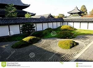 Japan Zen Garten Stockfoto Bild Von Tokyo Traditionell
